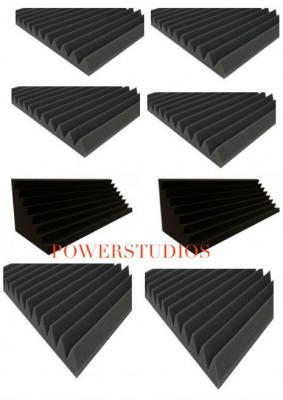promoción kIt 6 Paneles Acústicos- trianguakustick 100x50x 5cm+2 trampas 100x30x30,`Nuevos en stock` envío incluido