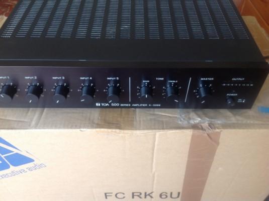 Amplificador toa series 500 mod.a-506-e