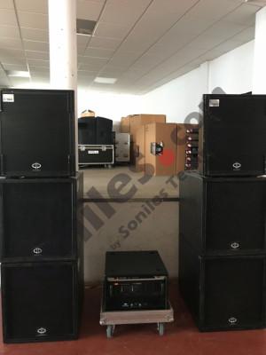 Equipo de sonido VMB C2 Array 4500W