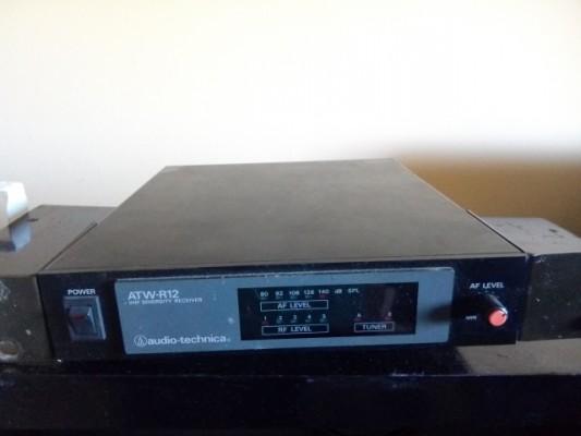 Audio technica ATW-R12 VHF diversity receiver