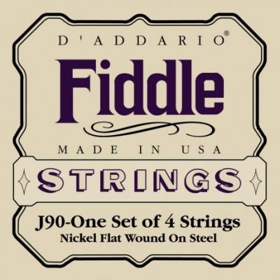 D ADDARIO ORCHESTRAL J90 FIDDLE 4/4