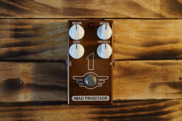 Mad Professor 1 One como nuevo! Brown sound + reverb