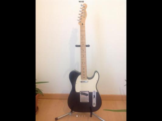 Fender telecaster standard 2005-06 MIM 60th anniversary