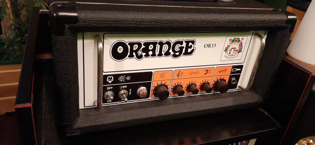 Orange OR15 H Negro por Flying V Korina