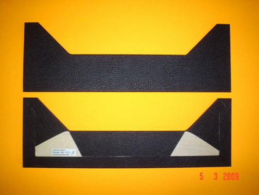 Retal de TOLEX negro tipo FENDER