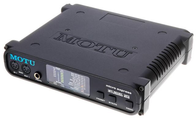MOTU Micro Express  USB