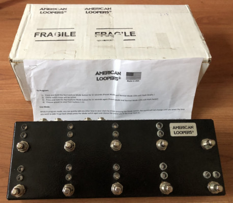 American Loopers switcher 8ch (Envío incluido)