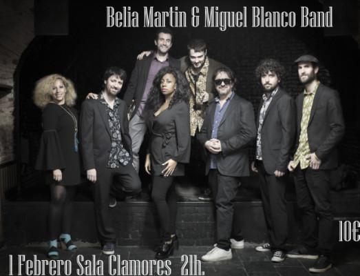 Belia Martin & Miguel Blanco Band