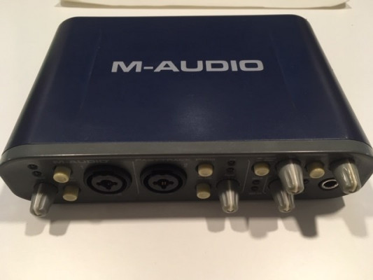 Interfaz de audio M-AUDIO FAST TRACK PRO