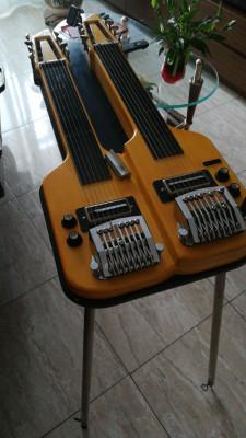 lap steel framus double 8 cuerdas/ 16