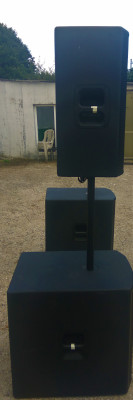 Vendo Equipo de Sonido JBL PRX Series 800 2 PRX 815 y 2 Sub 818.
