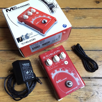 TH Helicon Mic Mechanic - Pedal de efecto para voces