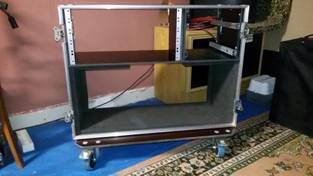 (O Cambio) Flight case para cabezal + 5 unidades de rack