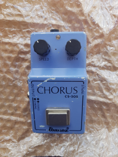 Vintage Ibanez Chorus CS-505