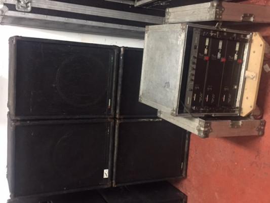 Vendo equipo de sonido Musicson 3 vias activas IP880  2000W RMS