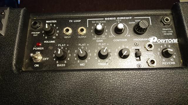 Amplificador Polytone mini brute II