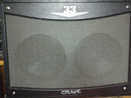 amplificador a valvulas crate v 33