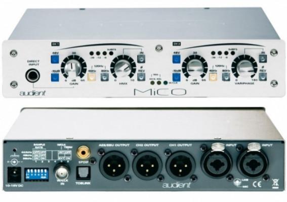 Audient MICO 2 canales preamplificador/conversor