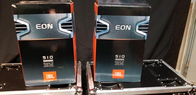 Vendo cajas autoamplificadas JBL EON 510