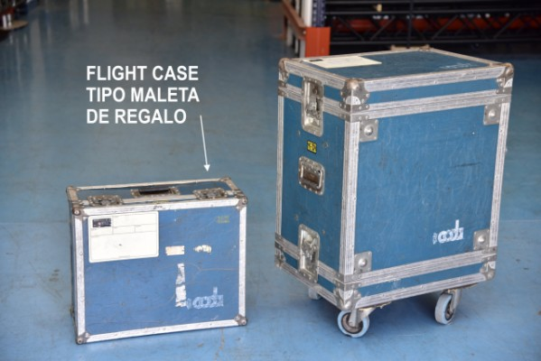 Rack-Case flotante 6 unid. doble tapa.