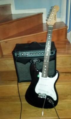 cambio ampli y guitarra por guitarra acústica