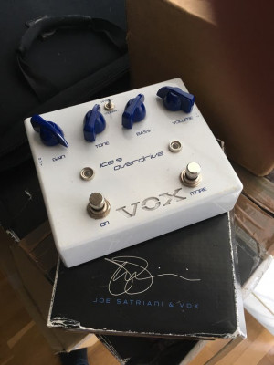 Pedal Overdrive Vox Ice 9 (Satriani)