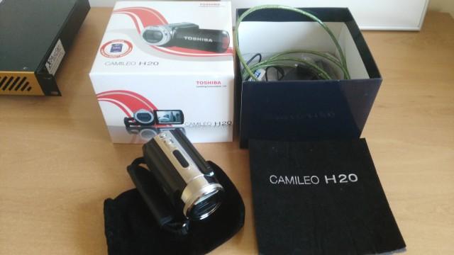 Toshiba Camileo H20 1080p HD vendo cambio