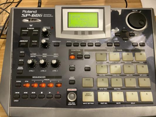 Roland SP 606 WorkStation Sampler