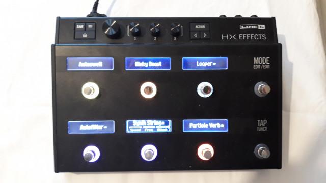 Line 6 helix HX Effects