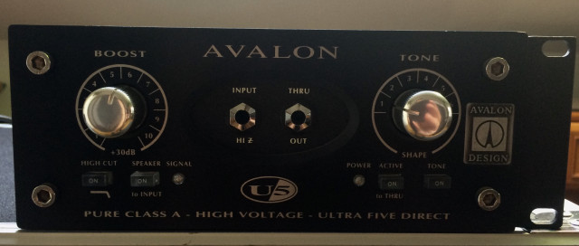 AVALON U5 BLACK (((NUEVA)))