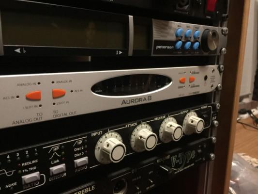 Tarjeta de sonido Lynx AES pci express + Aurora 8