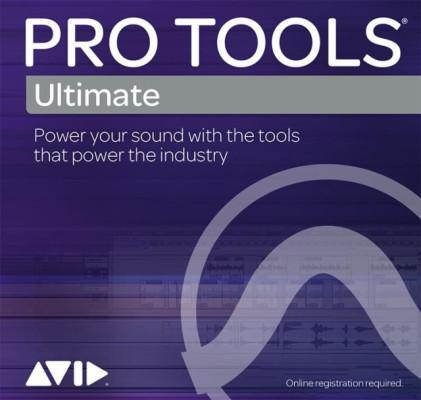 AVID Pro Tools Ultimate por registar NOVA