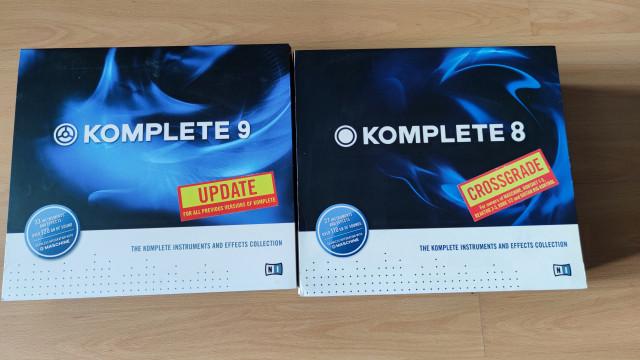 Software Komplete 8 Crossgrade + Komplete 9 Update
