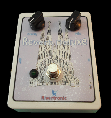 Pedal para guitarra eléctrica Reverb Deluxe.