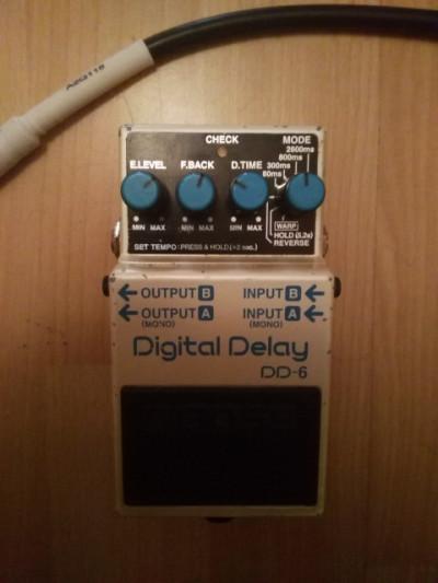 Delay Boss DD-6