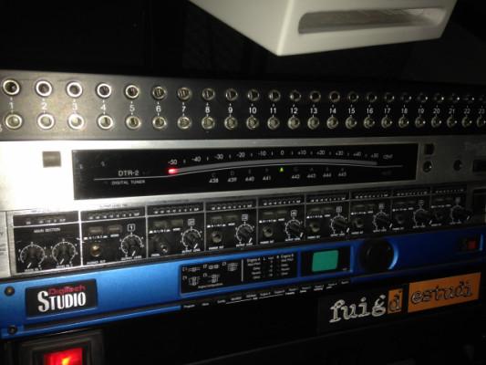 """AFINADOR KORG EN RACK 19"""" DTR-2 ToneWORKS"""