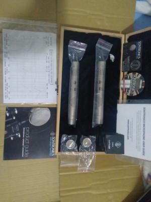 2 micros sontronics stc-1 pareados, cápsulas hyper y omni, envio incluido