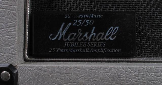 Placa Marshall Silver Jubilee