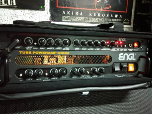 Etapa ENGL E840/50 todo válvulas nuevas
