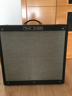 Vendo Fender Hot Rod Deville 60W 410 válvulas