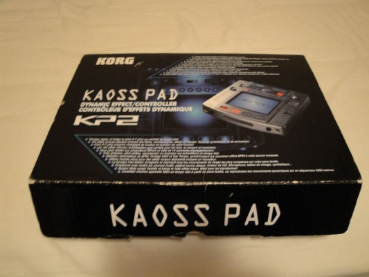 o CAMBIO  Kaoss Pad