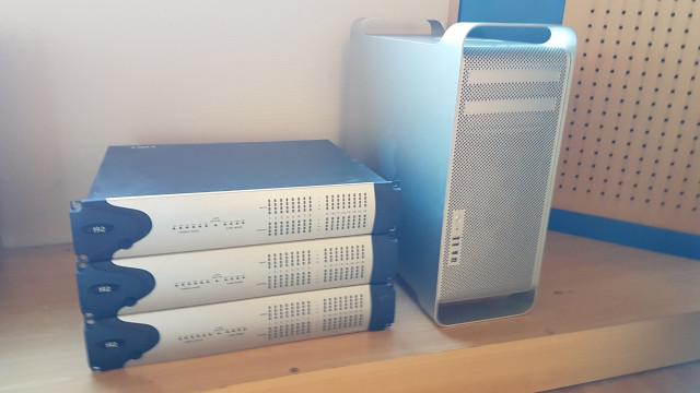 Vendo sistema completo Avid Pro Tools HD 3