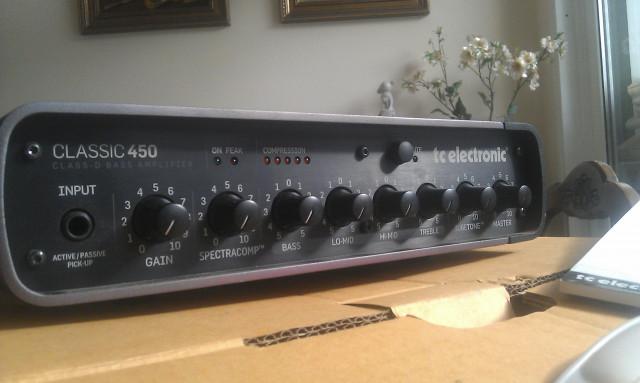 Cabezal Bajo T.C. Electronic Classic 450