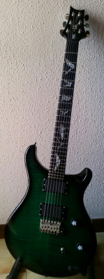 PRS SE PAUL ALLENDER SIGNATURE EMERALD GREEN