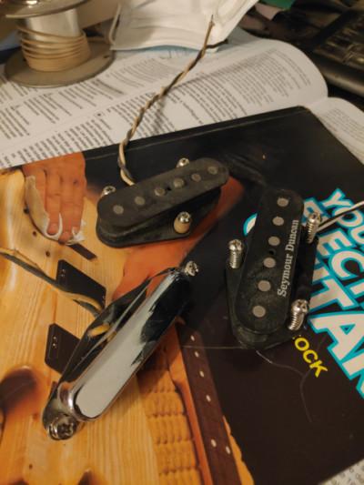 Pastillas Seymour Duncan para telecaster