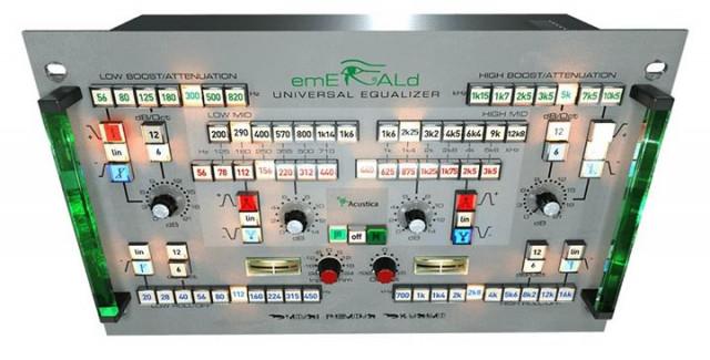 Acustica Audio Emerald Bunddle EQ (Klein + Hummel UE-1000)