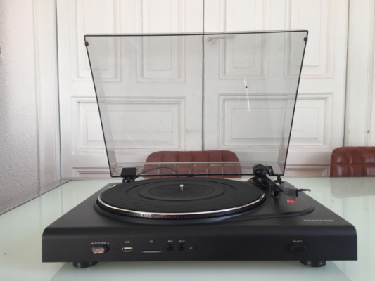 Giradiscos grabador mp3 & SD - Fonestar