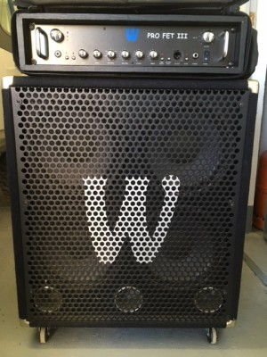 Warwick Profet III + Warwick 410 (300W)