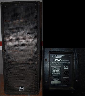 """Electro voice T 252, 2x15""""+2"""""""