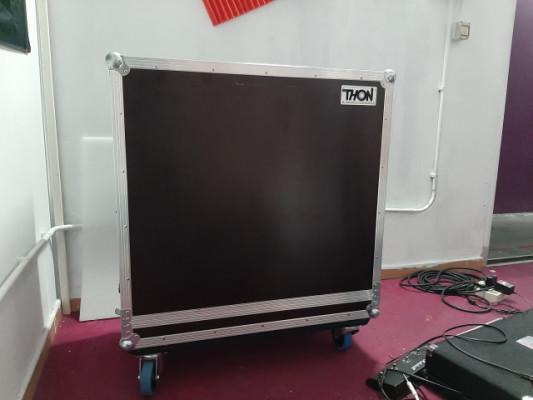 Fligtcase Thon 4×12 Marshall 1960bv o (Orange PPC412)